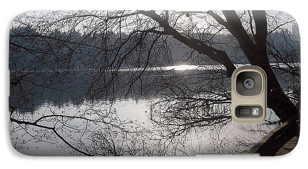 Galaxy Case featuring the photograph Burnaby Walk by Kim Prowse