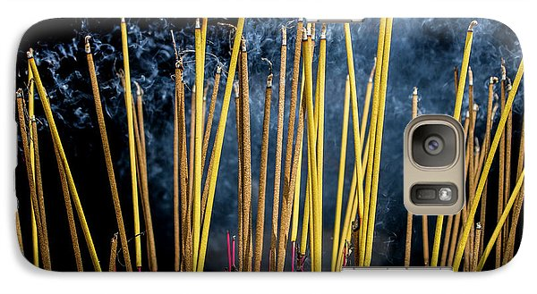 Burning Joss Sticks Galaxy S7 Case