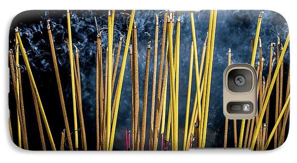Burning Joss Sticks Galaxy S7 Case by Hitendra SINKAR