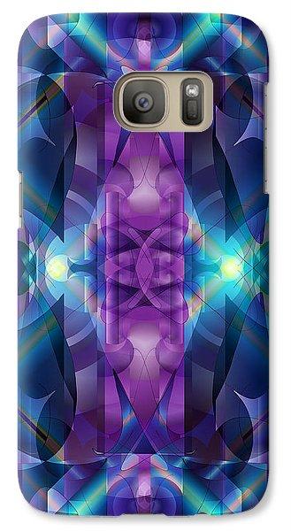 Galaxy Case featuring the digital art Burning The Midnight Oil by Lynda Lehmann