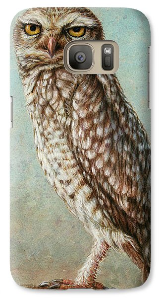 Burrowing Owl Galaxy S7 Case
