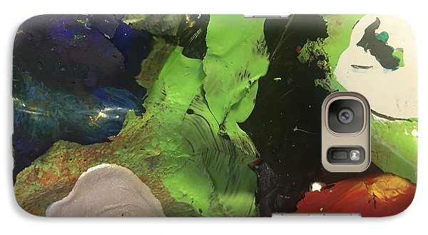 Galaxy Case featuring the photograph Bursting by Paula Brown