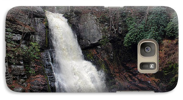 Galaxy Case featuring the photograph Bushkill Falls by Linda Sannuti