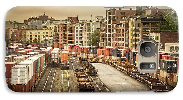 Galaxy Case featuring the photograph Busines End Of The City... by Russell Styles