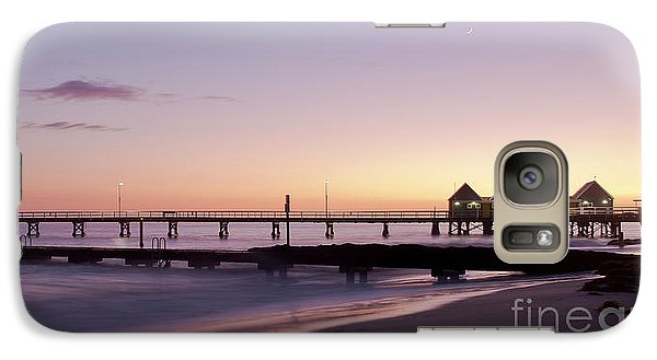 Galaxy Case featuring the photograph Busselton Jetty Sunrise by Ivy Ho