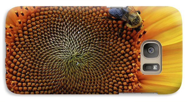 Galaxy Case featuring the photograph Busy Bee by Mike Martin