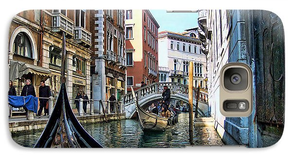 Galaxy Case featuring the photograph Busy Canal by Roberta Byram