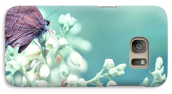 Galaxy Case featuring the photograph Buterfly Dreamin' by Mark Fuller