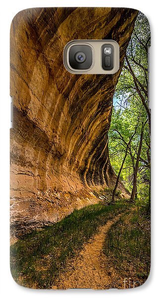 Galaxy Case featuring the photograph Butler Wash Wave Formation - Blanding - Utah by Gary Whitton