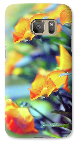 Galaxy S7 Case featuring the photograph Buttercups by Jessica Jenney