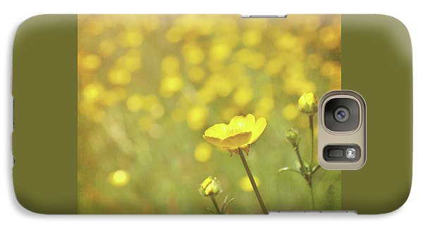 Galaxy Case featuring the photograph Buttercups by Lyn Randle