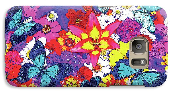Fairy Galaxy S7 Case - Butterflies And Flowers by JQ Licensing