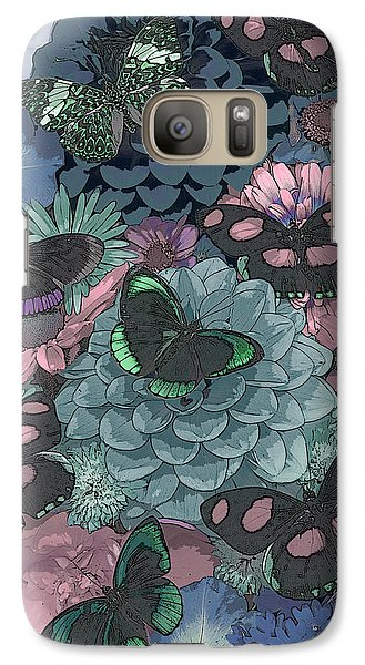 Fairy Galaxy S7 Case - Butterflies by JQ Licensing