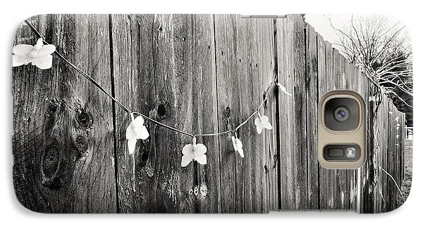 Galaxy Case featuring the photograph Butterflies On A Rustic Fence by Jeanette O'Toole