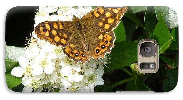 Galaxy Case featuring the photograph Butterfly 1 by Jean Bernard Roussilhe