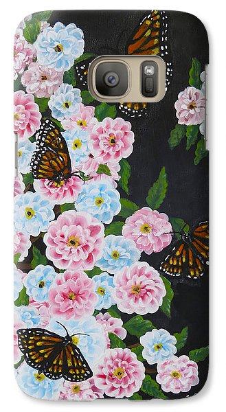 Butterfly Beauty Galaxy S7 Case