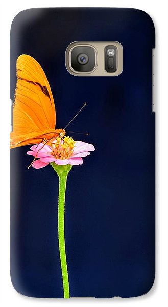 Galaxy Case featuring the photograph Butterfly Bloom by Mary Zeman