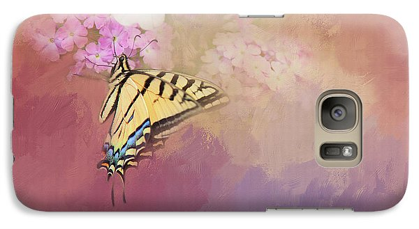 Galaxy Case featuring the photograph Butterfly Dreams by Theresa Tahara