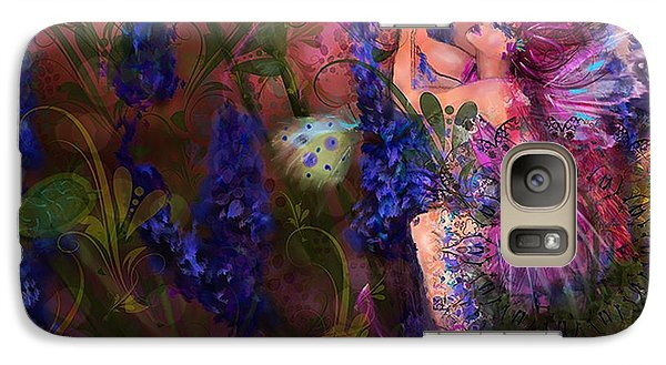 Galaxy Case featuring the digital art Butterfly Fairy by Kari Nanstad