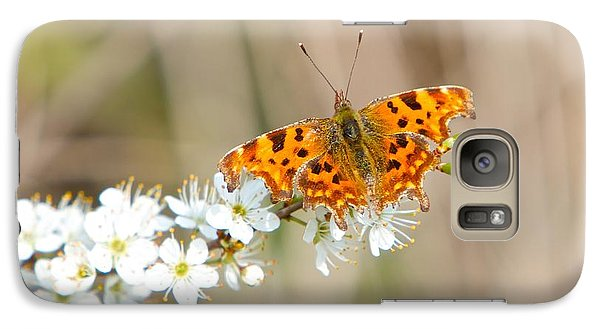 Galaxy Case featuring the photograph Butterfly by Gary Bridger