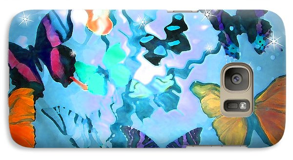 Galaxy Case featuring the photograph Butterfly Heaven by Rosalie Scanlon