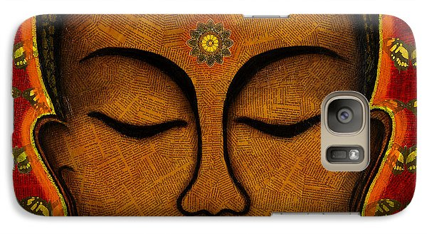Galaxy Case featuring the mixed media Butterfly Invocation by Gloria Rothrock