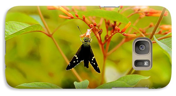 Galaxy Case featuring the photograph Butterfly by Janice Spivey