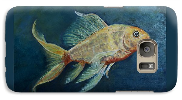 Galaxy Case featuring the painting Butterfly Koi II by Sandra Nardone