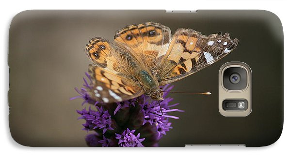 Galaxy Case featuring the photograph Butterfly In Solo by Cathy Harper