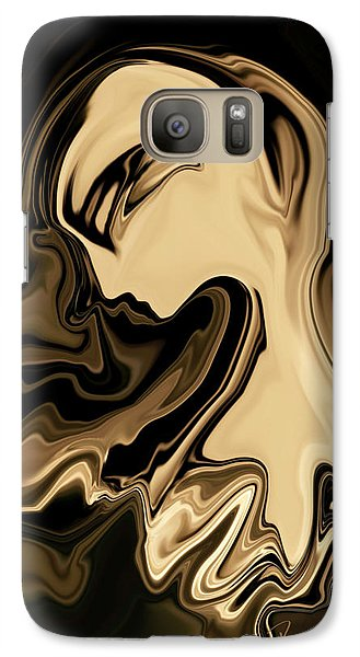 Galaxy Case featuring the digital art Butterfly Princess by Rabi Khan