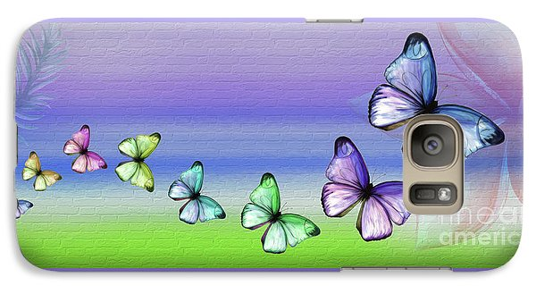 Butterfly Trail By Kaye Menner Galaxy S7 Case by Kaye Menner