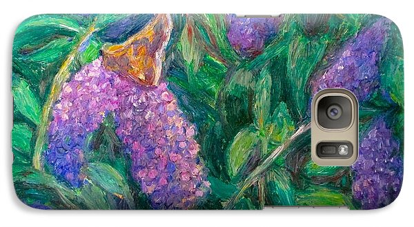 Galaxy Case featuring the painting Butterfly View by Kendall Kessler