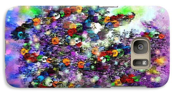 Galaxy Case featuring the digital art Buttons by Desline Vitto