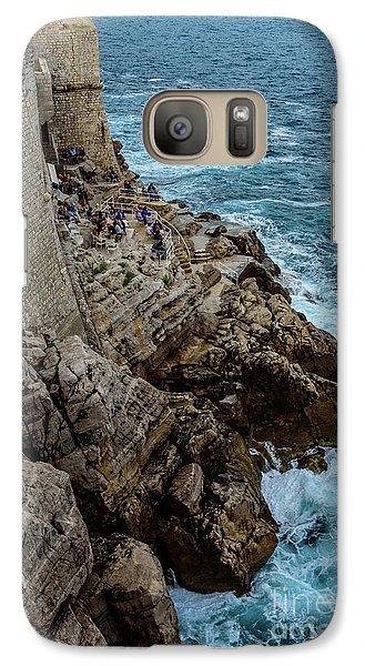 Buza Bar On The Adriatic In Dubrovnik Croatia Galaxy S7 Case