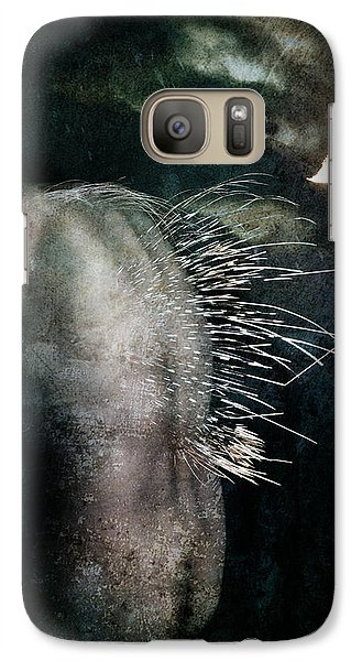 Galaxy Case featuring the digital art By The Light Of The Moon by Nada Meeks