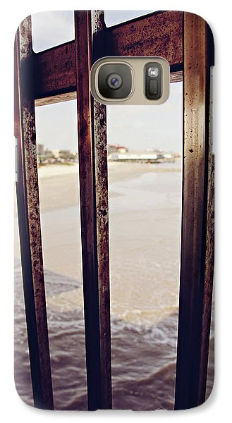 Galaxy Case featuring the photograph By The Sea by Trish Mistric