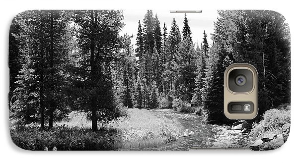 Galaxy Case featuring the photograph By The Stream by Christin Brodie