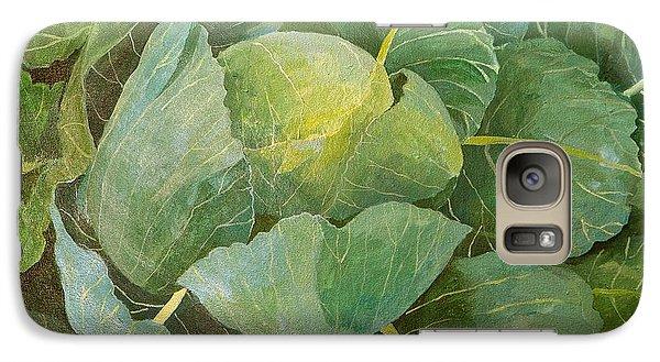 Cabbage Galaxy Case by Jennifer Abbot