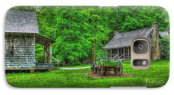 Galaxy Case featuring the photograph Cabin Fever Great Smoky Mountains Art by Reid Callaway