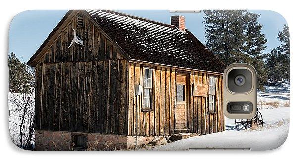 Cabin In The Snow Galaxy S7 Case