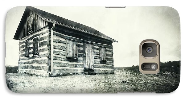 Galaxy Case featuring the photograph Cabin Near Paradise Springs - Kettle Moraine State Forest by Jennifer Rondinelli Reilly - Fine Art Photography