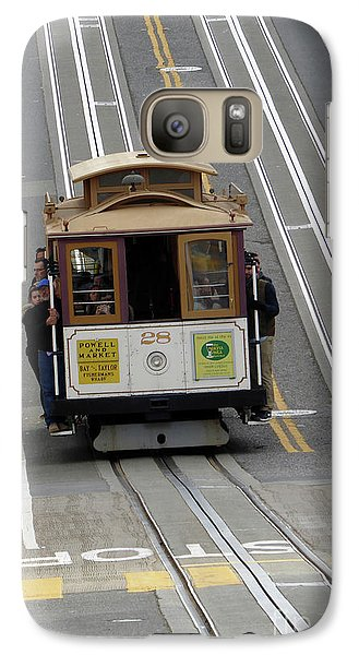 Galaxy Case featuring the photograph Cable Car by Steven Spak
