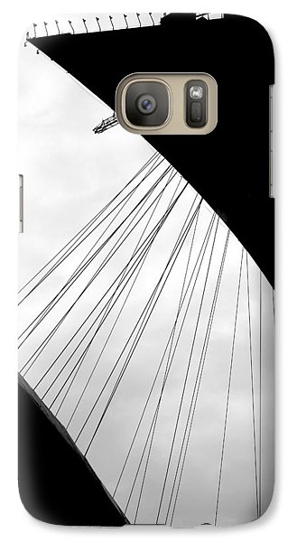 Galaxy Case featuring the photograph Cables And Funes by Valentino Visentini