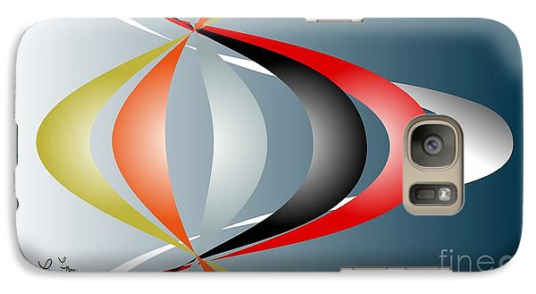Galaxy Case featuring the digital art Cacophony 2 by Leo Symon