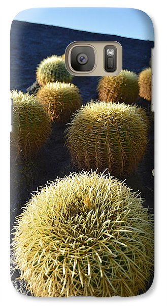 Galaxy Case featuring the photograph Cacti On The Roof by Marek Stepan