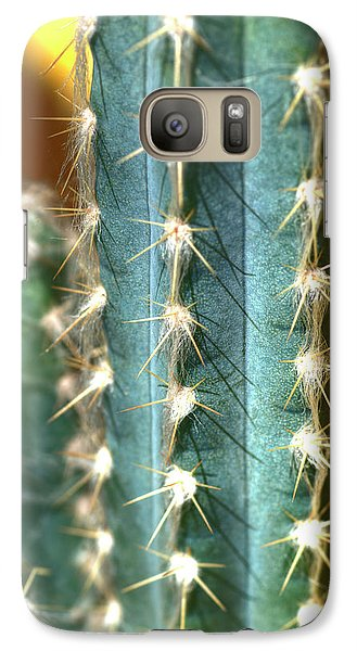 Galaxy Case featuring the photograph Cactus 3 by Jim and Emily Bush