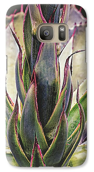 Galaxy Case featuring the photograph Cactus Desert Plant by Julie Palencia