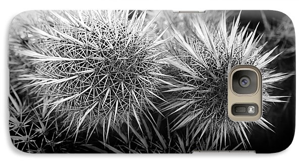Galaxy Case featuring the photograph Cactus Spines by Phyllis Denton
