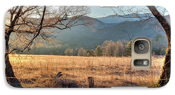 Galaxy Case featuring the photograph Cades Cove, Spring 2017 by Douglas Stucky
