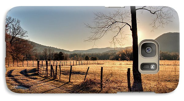 Galaxy Case featuring the photograph Cades Cove, Spring 2017,i by Douglas Stucky